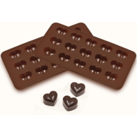 Cool Trends Silicon Chocolate Moulds - Heart