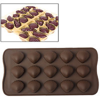 Sea Shell Shape Silicone Ice Chocolate Cake Jelly Candy Mould Mini Tray Pan Cube