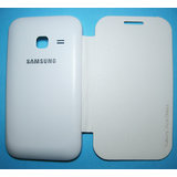 Rissachi Flip Case Cover For Samsung Galaxy Ace Duos Mobile (White)