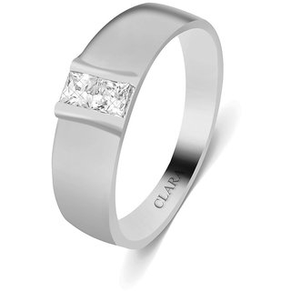 Clara Sterling Silver Swarovski The Eurico Men Ring