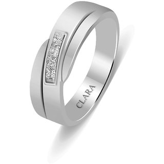 Clara Sterling Silver Swarovski The Goyo Men Ring