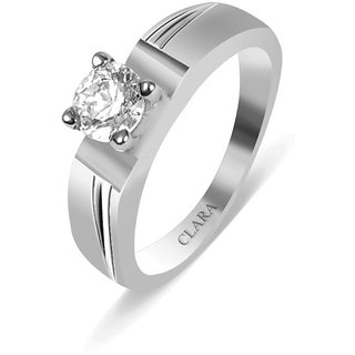 Clara Sterling Silver Swarovski The Jose Men Ring
