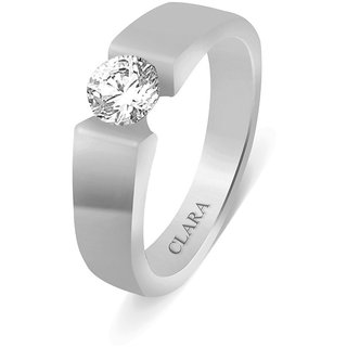 Clara Sterling Silver Swarovski The Jupiter Men Ring