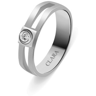 Clara Sterling Silver Swarovski The Mario Men Ring