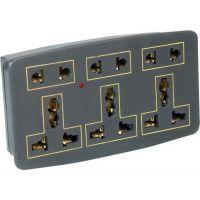 Conversion Plug- 5 Amp-Multi Plug Sockets-3 Pin Multiplug-3 Sockets [CLONE]