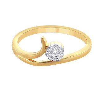 Sangini Real Diamond Gold Ring By Gitanjali (Design 20)