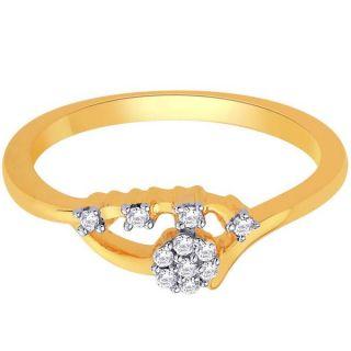 Sangini Real Diamond Gold Ring By Gitanjali (Design 31)