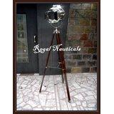 Authentic Designer Marine Floor Lamp, Nautical Spotlight Tripod Floor Lamps