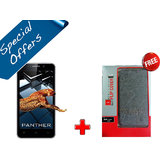 IBall Andi 5K Panther Mobile (Wine) And Get Original IBall Flip Cover Free