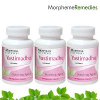 Morpheme Licorice (Yastimadhu) Supplements For Cough & Sore Throat Relief