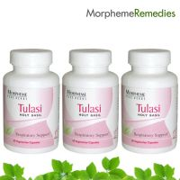 Morpheme Holy Basil (Tulsi) Supplements For Cough & Sore Throat Relief