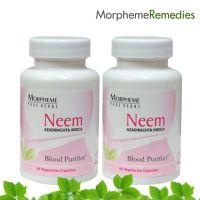 Morpheme Neem Supplements - Skin & System Purifier - 500Mg Extract