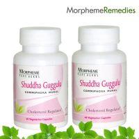 Morpheme Shuddha Guggul Supplements - Cholesterol & Weight Loss - 500Mg Extract