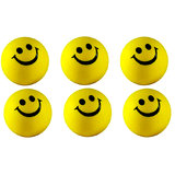 Smiley Balls 6 For Car Stress Relieve Punching Ball