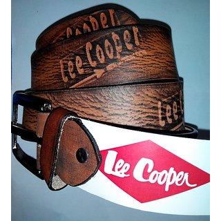 LEE COOPER BELT (BROWN)