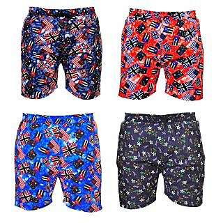 PNP Mens Cotton Boxers (Pack of 4)