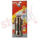 Car Exhaust 2.5 Inch Silencer Muffler Tip Pipe Universal Size