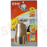 Car Exhaust 3.2 Inch Silencer Muffler Tip Pipe Universal Size