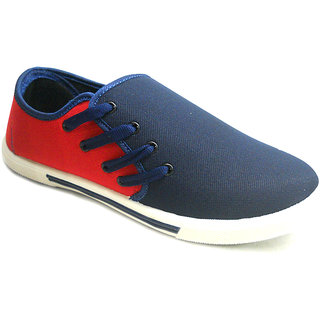 Fast Trax C1 Red And Black Mens Casual Shoes