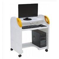 Plastic Computer Table PLS COMP TAB 001 (Knockdown)