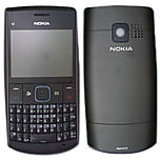 Rissachi Phone Housing Body Panel For Nokia X2-01 Mobile Black