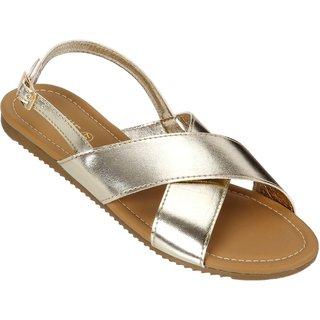 Lavie Women's Gold Flats