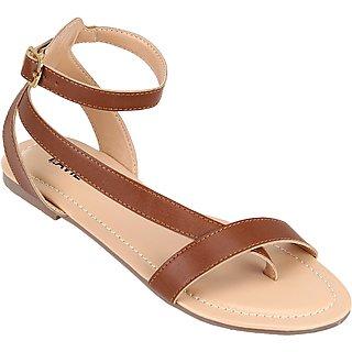 Lavie Women's Tan Flats