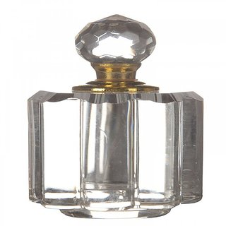 6thdimensions Crystal Sindoor Container (3 cm x 3 cm x 6 cm Clear Pack of 1)