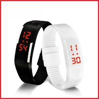 LED Sports Digital Wrist Watch by qw
