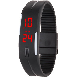 Robotic Magnetic LED Watch by q available at ShopClues for Rs.499