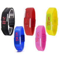 Led 5 set combo led black red yellow blue pink by o