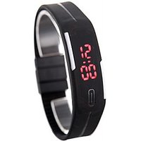 R S LED Watch with black Stip by fg