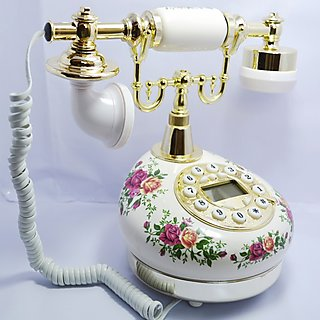 Antique Style Royal Landline Phone With Caller ID