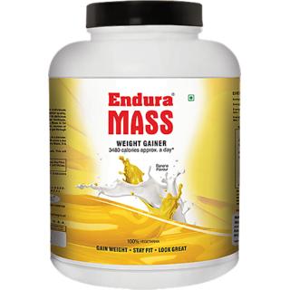 Endura Mass Weight Gainer 3kg Banana
