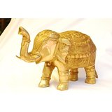 MC Brass Metal Golden Elephant