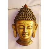 MC Brass Metal Buddha Head