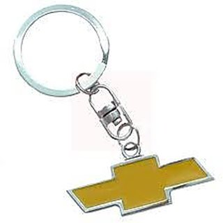 2 Pack Of Chevrolet Logo Keychain (Double-sided) For Car