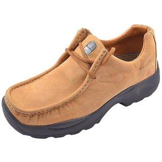Woodland Splendid Brown Leather Men's Boots (Size-7 Uk)