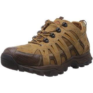 Woodland Stylish Brown Leather Men's Boots (Size-9 Uk)