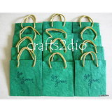 Go Green Bags/ Envelopes -Pack Of Twelve