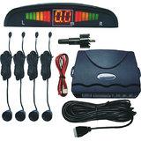 Car Safety Reverse Parking Sensors+ Display-Beeper- BLACK COLOR
