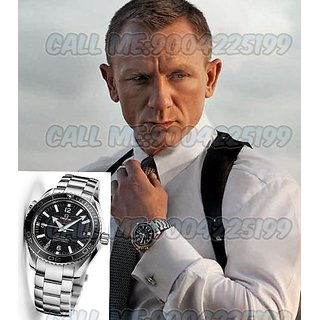 Omega SkyFall 007 Black Dial Steel Swiss Made Automatic Watch