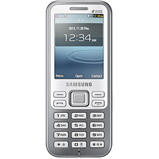 Samsung Metro DUOS C3322  White  available at ShopClues for Rs.3399