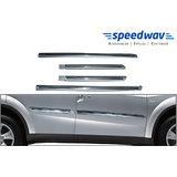 Speedwav Side Beading Chrome Plated Silver-U