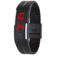 Robotic Magnetic LED Watch BLACK