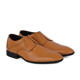 Ziraffe POLAR Camel Leather Formal Shoes