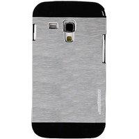 Samsung 7562 MOTOMO Glossy Designe Case Cover For Samsung Galaxy S Duos - Silver - 4535652