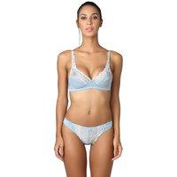 ad8d4006a2 Bodyline Women s Lycra Non Padded Bra Panty Set - Grey Color