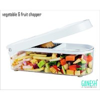 Vegetable & Fruit Chopper Cutter With Free Chop Blade & Cleaning Tool