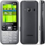 Samsung Metro DUOS C3322 (Deep Black) available at ShopClues for Rs.3899